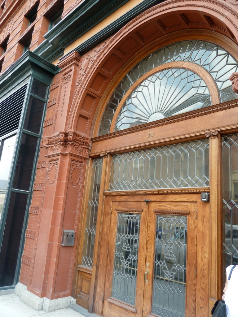 Beautiful Doorway On The Side Of The Hennessy Building