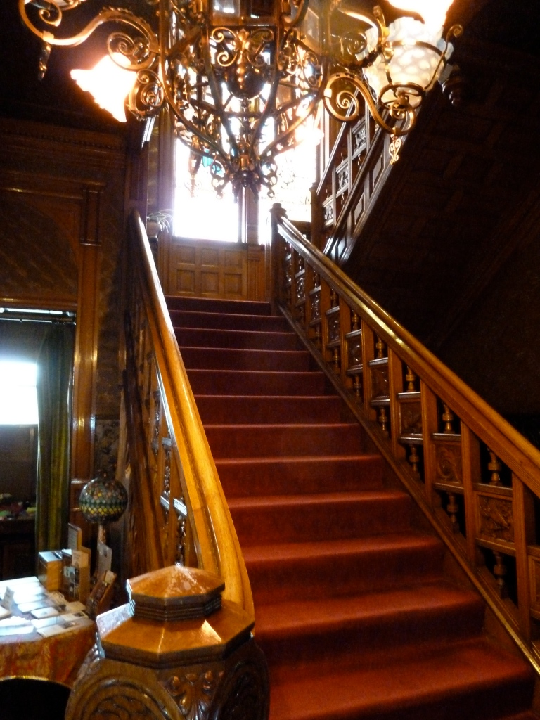 The Beautiful Staircase In The Clark Mansion