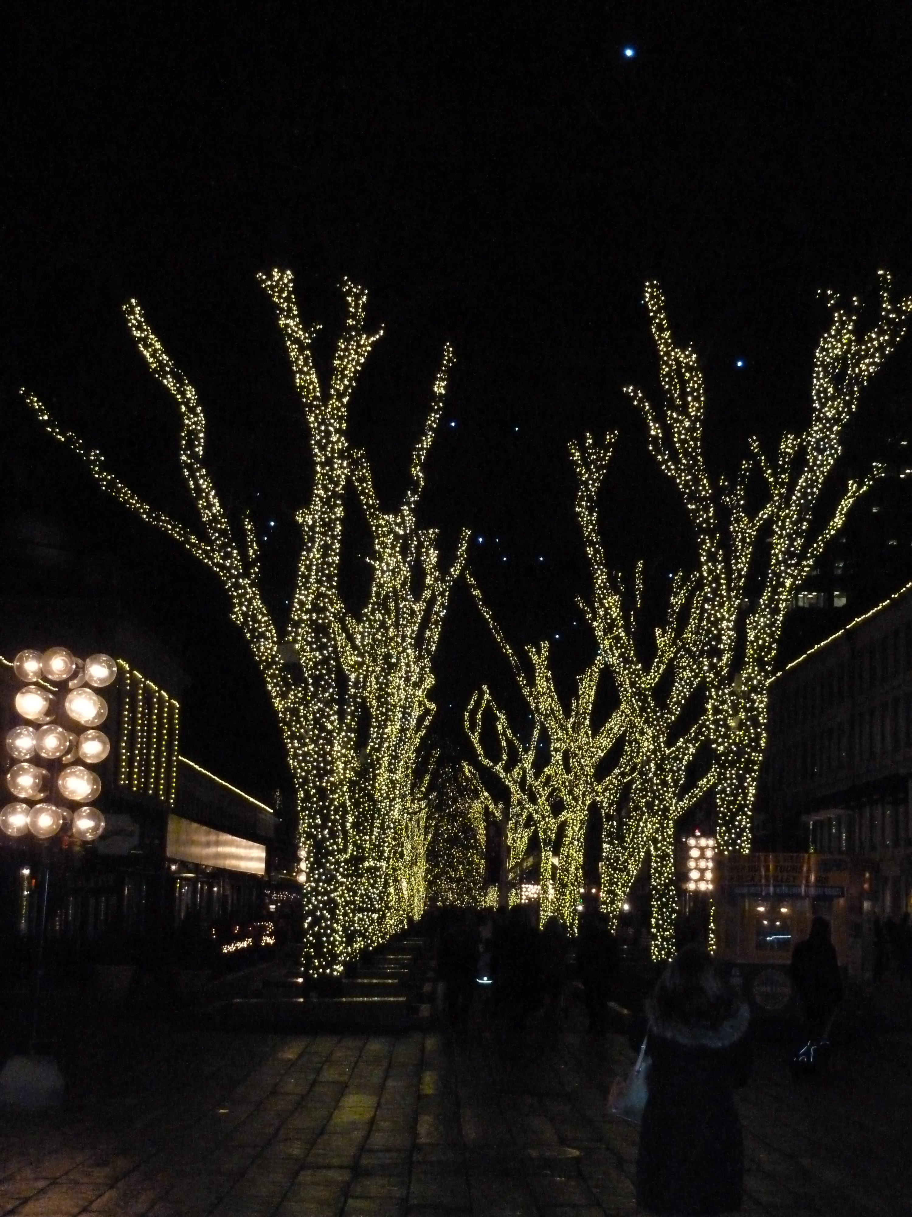 Beautiful Lights at Faneuil Hall