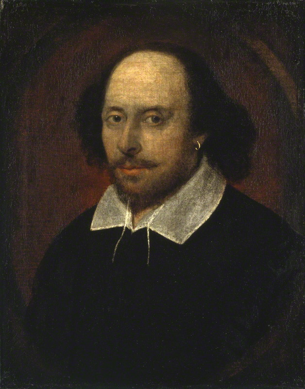 William Shakespeare courtesy of the National Portrait Gallery, London, England