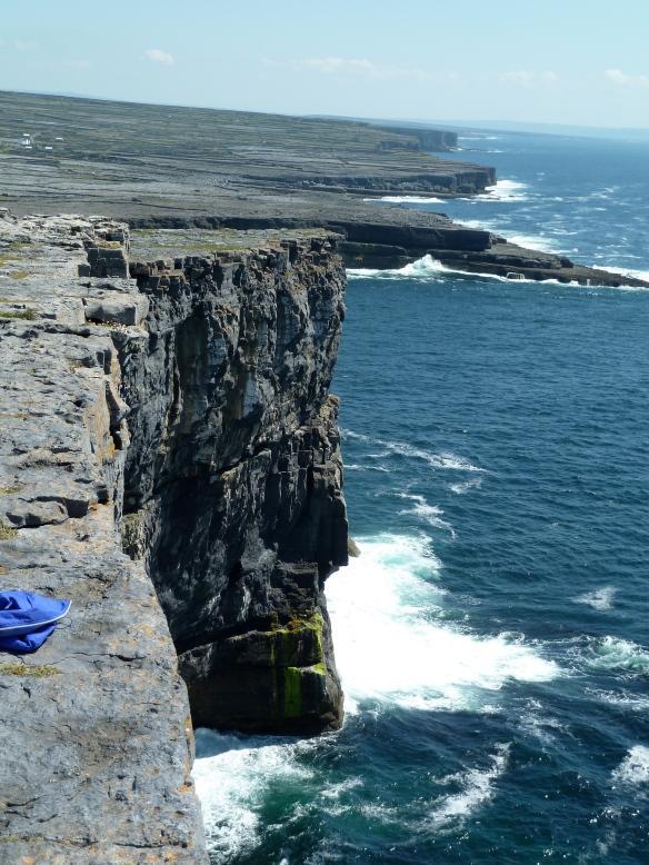 Cliffs near Dun Aengus