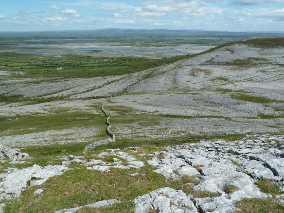 The limestone of the Burren