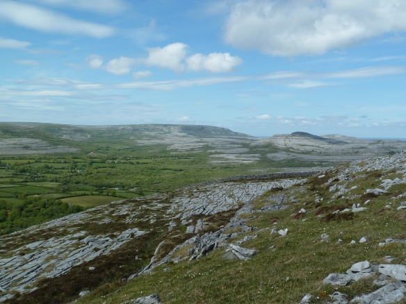 A view across the Burren