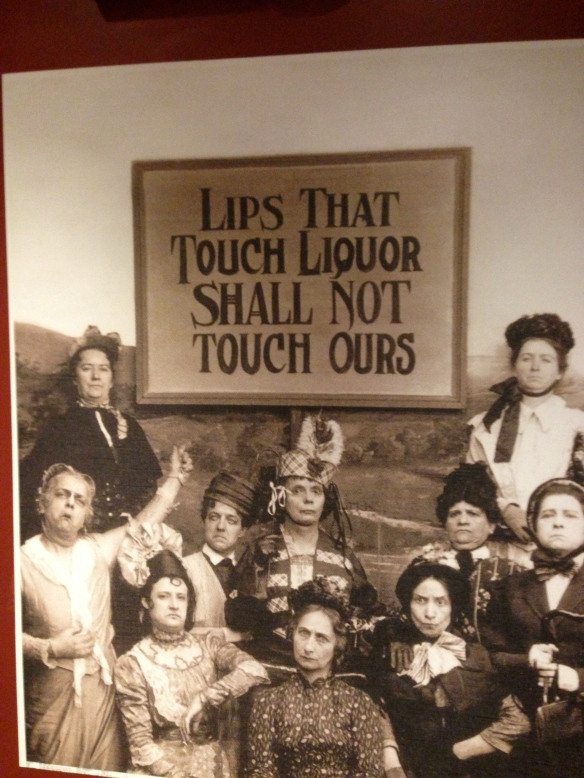 A Temperance Movement Poster.  What do you think of some of these women's expressions?