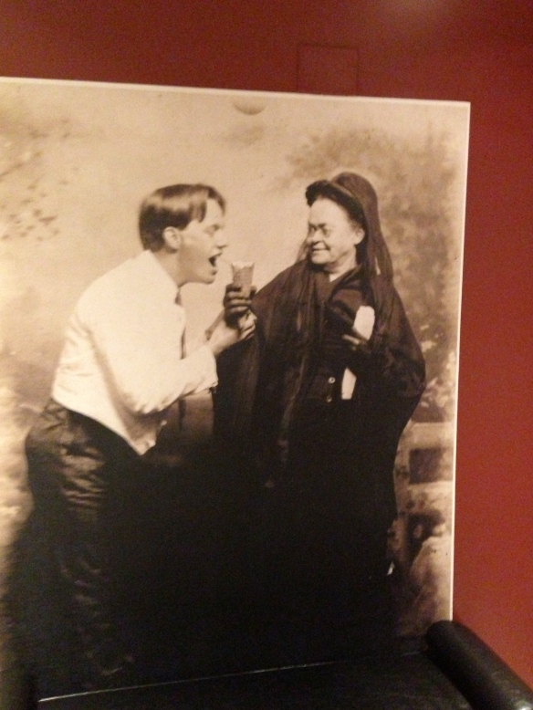A photo of Carrie Nation in the Cocktail Club