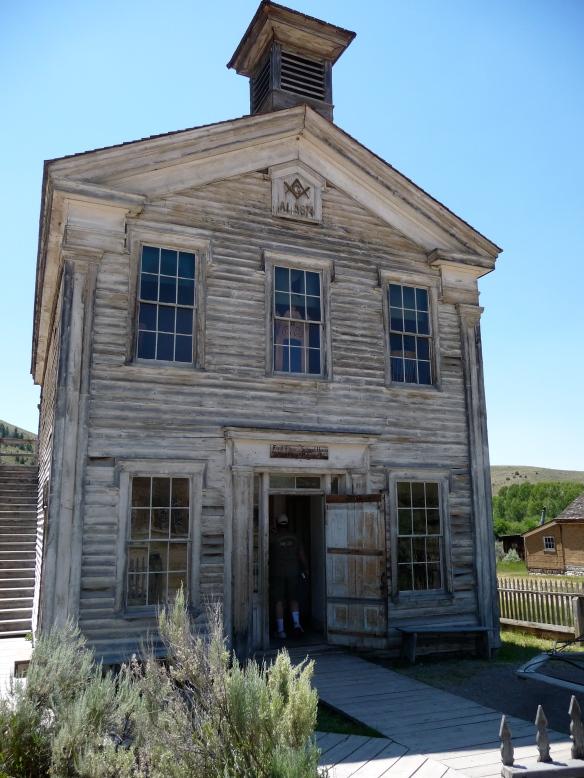 The schoolhouse at Bannack